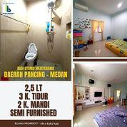 Rumah Semi Furnished Dekat Pintu Tol Hanif Pancing Medan 2,5 Lantai (27952099) di Kota Medan