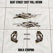 Striping Beat Street 2017 Full Hitam (27952267) di Kota Jambi