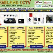 Paket Promo CCTV 4Camera 2MP Complit (27952779) di Kota Medan