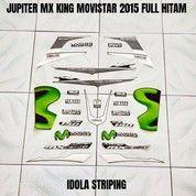 Striping Jupiter MX King Movistar 2015 Full Hitam (27954531) di Kota Jambi