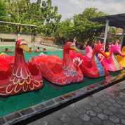 Bebebk Fiber Perahu Kayuh Odong Odong Kereta Panggung (27955203) di Kab. Polewali Mandar