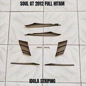 Striping Soul GT 2012 Full Hitam (27965227) di Kota Jambi