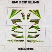 Striping Ninja SS 2014 Full Hijau (27966587) di Kota Jambi