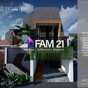 Rumah Cluster Design Modern Tropis Industrial Di Jln Warung Silah Jagakarsa Jakarta Selatan (27966907) di Kota Jakarta Selatan