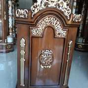 Minbar Podium Solid Indah Jepara (27976195) di Kota Jakarta Timur