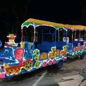 Kereta Motor Thomas Odong 2 Full Lampu Hias Asli Pabrik Resmi (27976627) di Kab. Jayapura