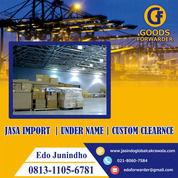 JASA IMPORT RESMI | DOOR TO DOOR | CUSTOM CLEARANCE | UNDERNAME | GOODS FORWARDER (27980095) di Kota Jakarta Timur