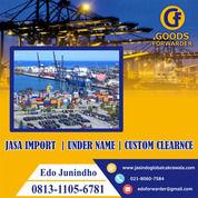 JASA IMPORT RESMI | PI BESI BAJA, KEHUTANAN, DLL | GOODS FORWARDER (27980107) di Kota Jakarta Timur