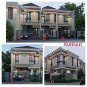 Rumah Hook Minimalis Modern 2 Lantai Row Jalan Lebar Kutisari Utara (27983615) di Kota Surabaya