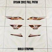 Striping Byson 2012 Full Putih (27984035) di Kota Jambi