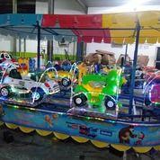 Kereta Panggung Isi 6 Gerbong Wahana Odong Odong (27987651) di Kota Palopo