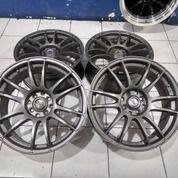 Velg Secend Racing Rays Ring 17 Pcd 8x100/114,3 Warna Grey (27992127) di Kota Bekasi