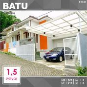 Rumah Murah Luas 218 Dekat Wisata BNS Kota Batu Malang _ 460.20 (27993679) di Kota Malang