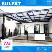 Rumah Murah Luas 113 Di Simpang Sulfat Kota Malang _ 468.20 (27994015) di Kota Malang