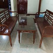 1 Set Kursi Jati (27994459) di Kota Bekasi
