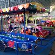 Wahana Mainan Air Pancingan Fiber Odong 2 Lengkap Kincir (27994815) di Kab. Malang