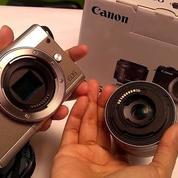 Kamera Canon M100 Kit EF-M 15-45mm Baru (27995431) di Kab. Bekasi