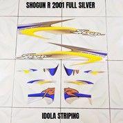 Striping Shogun R 2001 Full Silver (27998143) di Kota Jambi