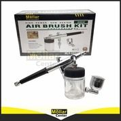 Air Brush Kit Pen Brush Mollar Double Action Trigger Air Paint Control MLR-ABS13 Nozzle 0.3mm (27998391) di Kota Magelang