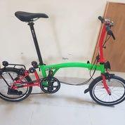 Sepeda Lipat 3sixty (28005131) di Kota Jakarta Timur