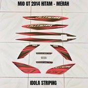 Striping Mio GT 2014 Hitam - Merah (28009955) di Kota Jambi