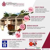 Rumah Di Cluster Rumman Residence Cimuning Mustika Jaya Bekasi 2 Lt Luas 52,5 Rp 439 JT 3 KT 2 KM (28025199) di Kota Bekasi