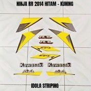 Striping Ninja RR 2014 Hitam - Kuning (28030015) di Kota Jambi