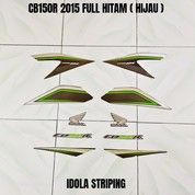 Striping CB150R 2015 Full Hitam ( Hijau ) (28035887) di Kota Jambi