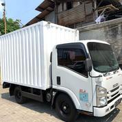 BAGUS+BanBARU,MURAH Isuzu Elf Engkel NLR55TX Box Besi 2018 (28037839) di Kota Jakarta Utara