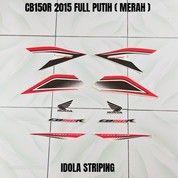 Striping CB150R 2015 Full Putih ( Merah ) (28038363) di Kota Jambi