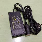 DC TO AC ADAPTOR CONVERTER POMPA BAN MOBIL KE COLOKAN LISTRIK RUMAH 5A (28041271) di Kota Jakarta Utara