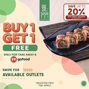 Sushi Tei Buy 1 Get 1 Save Up 20% (28041747) di Kota Jakarta Selatan
