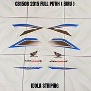 Striping CB150R 2015 Full Putih ( Biru ) (28043975) di Kota Jambi