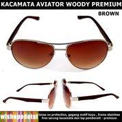 Kacamata Pria Aviator Woody Style (28045171) di Kota Jakarta Timur