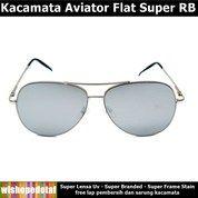 Kacamata Stainless Aviator Flat Super RB (28045235) di Kota Jakarta Timur