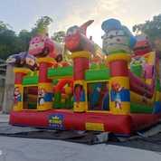 Produsen Rumah Balon Istana Bompes 4x6 Odong Risma Mandi Bola (28050327) di Kota Padangsidimpuan
