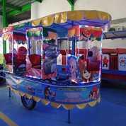 Kereta Panggung Fiber Plat Karakter Kartun (28065599) di Kota Malang