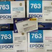 CATRIDGE EPSON P607 T763 SERIES ORIGINAL - Call ELLA Globalindo (28069959) di Kota Surabaya