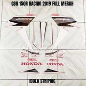 Striping CBR 150R Racing 2019 Full Merah (28088443) di Kota Jambi
