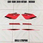 Striping CBR 150R 2019 Hitam - Merah (28095879) di Kota Jambi