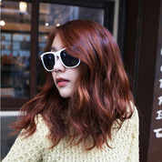 Kacamata Fashion Anti Silau Update Retro Style Modern Warna Putih (28098195) di Kota Surakarta
