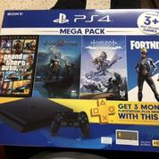 PS4 Sim 1TB Mega Pack Garansi Sony (28101095) di Kab. Bogor