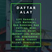 Sewa Alat Proyek Lampung (28103031) di Kota Bandar Lampung