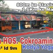 Tanah STRATEGIS Di Jl HOS Cokroaminoto KODYA YOGYAKARTA-Lt 373m Ld 9m (28112135) di Kota Yogyakarta