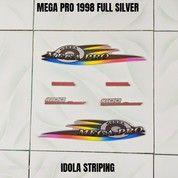 Striping Mega Pro 1998 Full Silver (28115143) di Kota Jambi