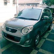 Kia New Picanto Cosmo 1.2 SE Automatic Tahun 2010 Warna Abu2 Metalik (28117215) di Kota Jakarta Timur