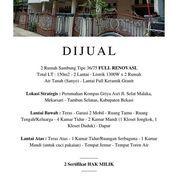 Rumah 2 Lantai Lokasi Strategis Di Tambun Selatan (28129311) di Kota Bekasi