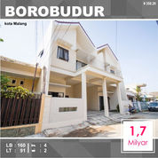 Rumah Baru 2 Lantai Luas 91 Di Borobudur Sukarno Hatta Kota Malang _ 358.20 (28145131) di Kota Malang