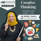 Training Online Webinar Creative Thinking ALC Leadersip & Management (28159275) di Kota Bekasi