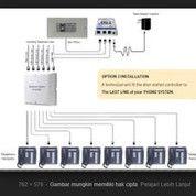 Panasonic IP PABX PBX KX-TDA100D+KX-DT333 Kap. 8 CO Line - 76 Extension (28179503) di Kota Jakarta Timur